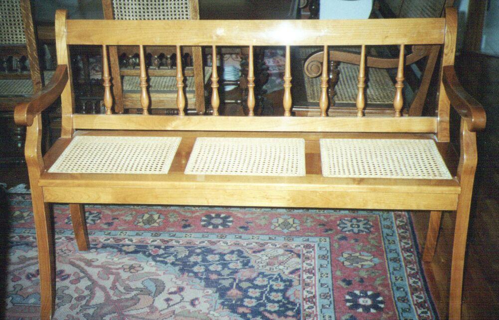 cherrywood bench